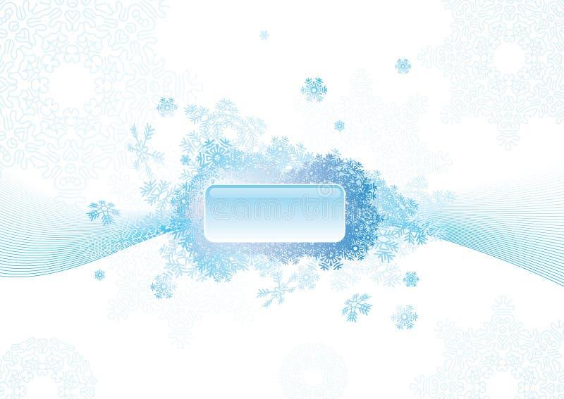 αφηρημένο snowflake ανασκόπησης απεικόνιση αποθεμάτων