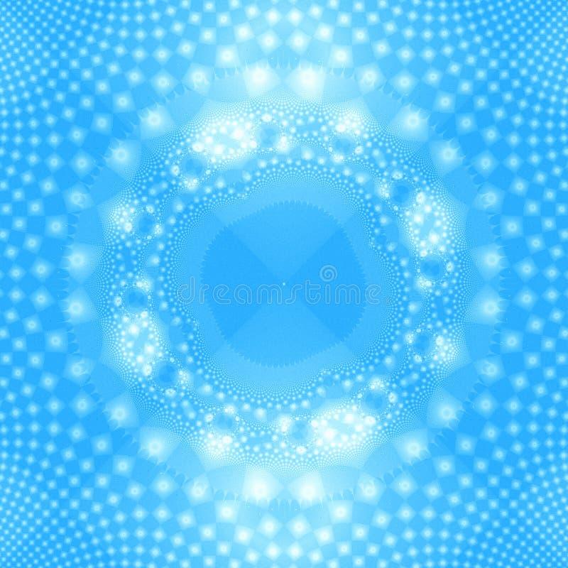 αφηρημένο snowflake σχεδίου ανασ& απεικόνιση αποθεμάτων