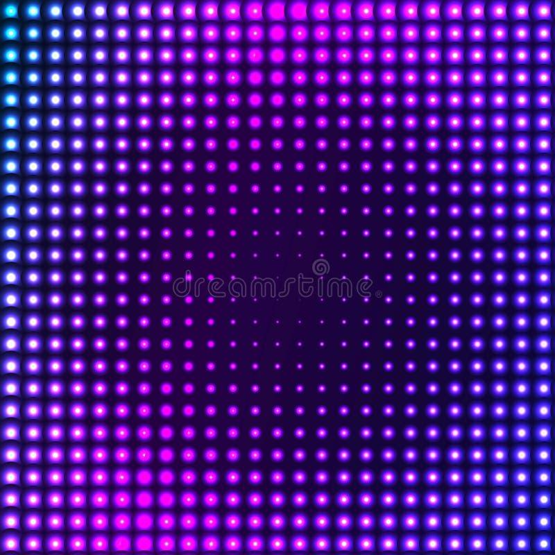 αφηρημένο techno ανασκόπησης διανυσματική απεικόνιση