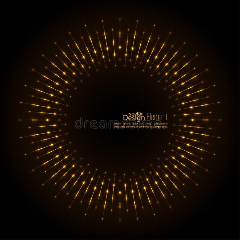 αφηρημένο techno ανασκόπησης απεικόνιση αποθεμάτων