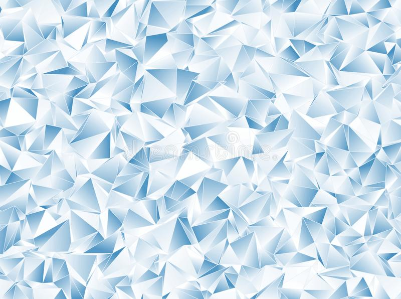 Αφηρημένο triangulated polygonal υπόβαθρο ελεύθερη απεικόνιση δικαιώματος