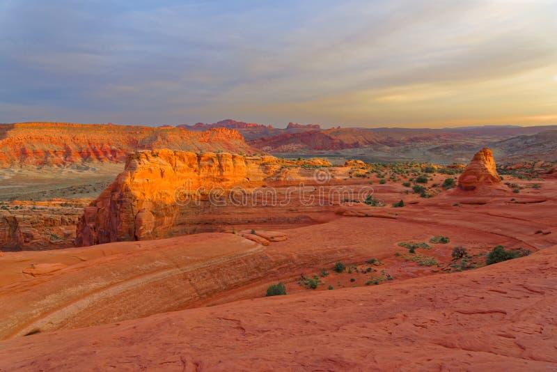 Αφιερώστε την αψίδα στο εθνικό πάρκο αψίδων, Γιούτα στοκ φωτογραφία με δικαίωμα ελεύθερης χρήσης