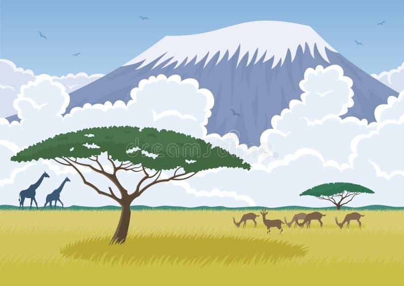 Αφρική διανυσματική απεικόνιση