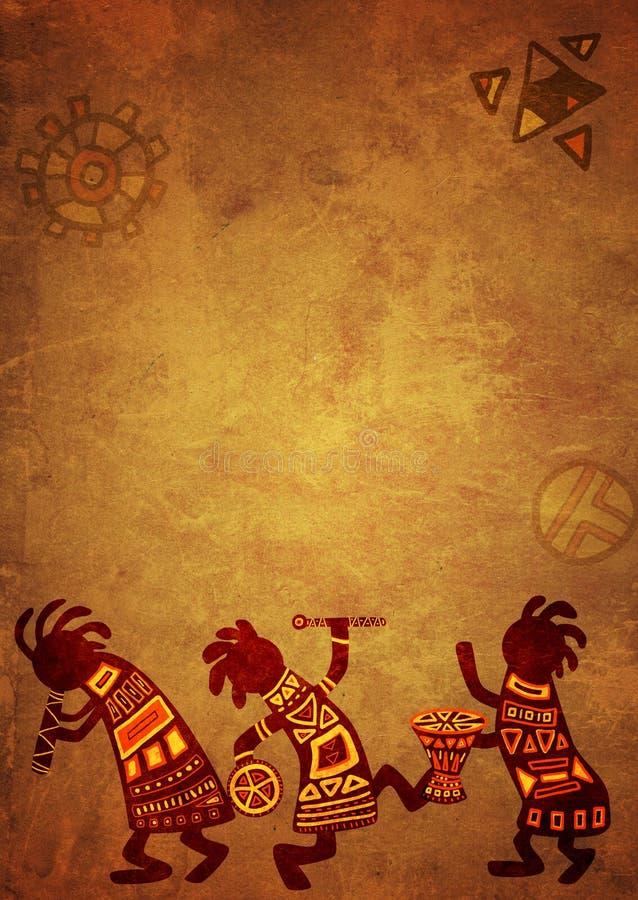 αφρικανικά εθνικά πρότυπα απεικόνιση αποθεμάτων