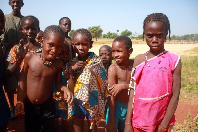 αφρικανικά παιδιά Μαλί στοκ φωτογραφίες