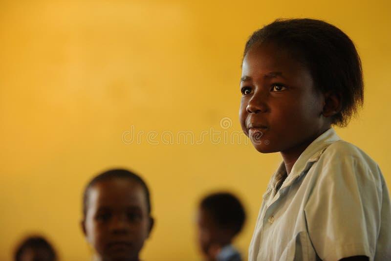 αφρικανικές σχολικές νε& στοκ φωτογραφία