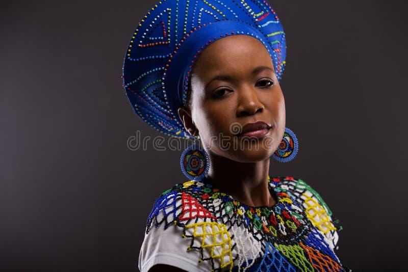 αφρικανική γυναίκα μόδας στοκ φωτογραφίες