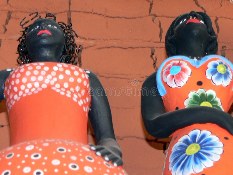 αφρικανική κούκλα στοκ φωτογραφία