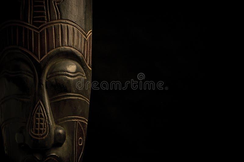 αφρικανική μαύρη μάσκα ανα&sigma στοκ εικόνα