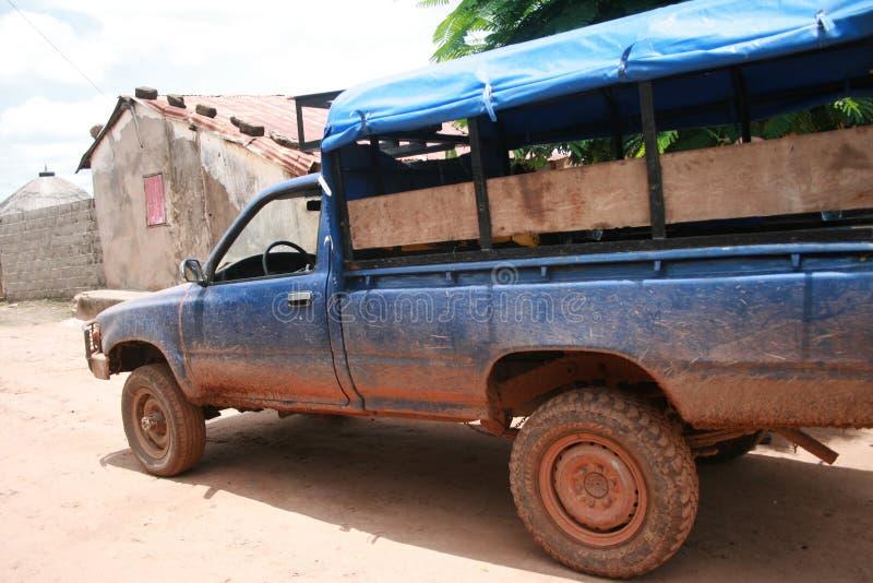 Αφρικανική μεταφορά 4x4 στοκ εικόνα με δικαίωμα ελεύθερης χρήσης