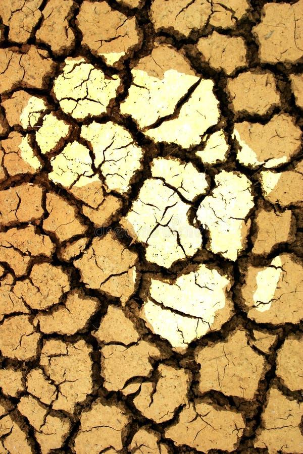 αφρικανική ξηρασία στοκ εικόνα