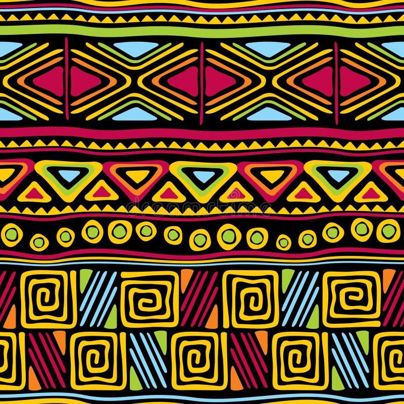 αφρικανικός άνευ ραφής διανυσματική απεικόνιση