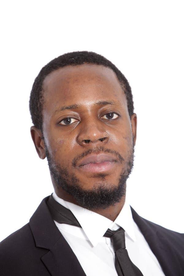 Αφρικανικός επιχειρηματίας με μια σοβαρή έκφραση στοκ φωτογραφία με δικαίωμα ελεύθερης χρήσης