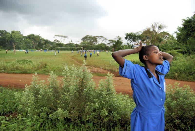 αφρικανικός σπουδαστής στοκ φωτογραφία