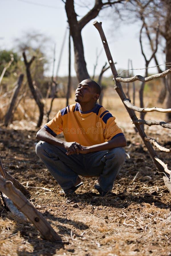 αφρικανικό άτομο στοκ εικόνα με δικαίωμα ελεύθερης χρήσης