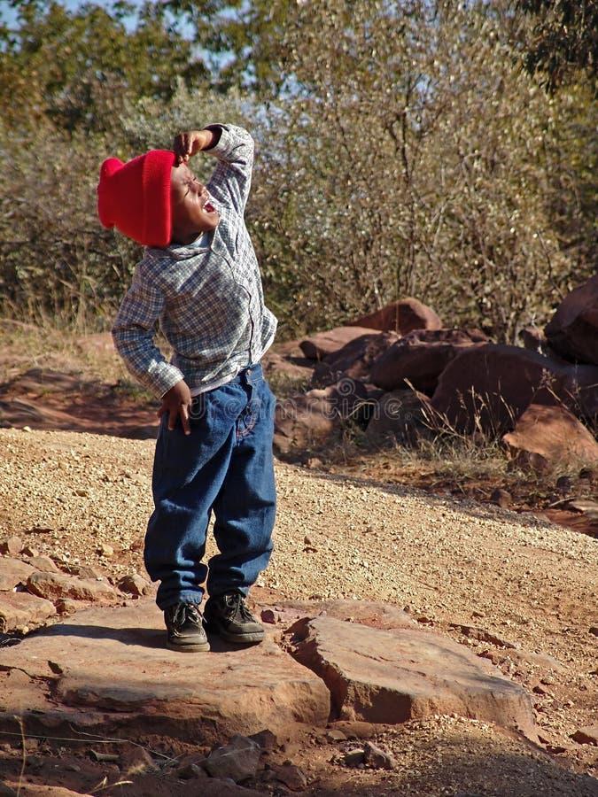 αφρικανικό αγόρι στοκ εικόνα με δικαίωμα ελεύθερης χρήσης
