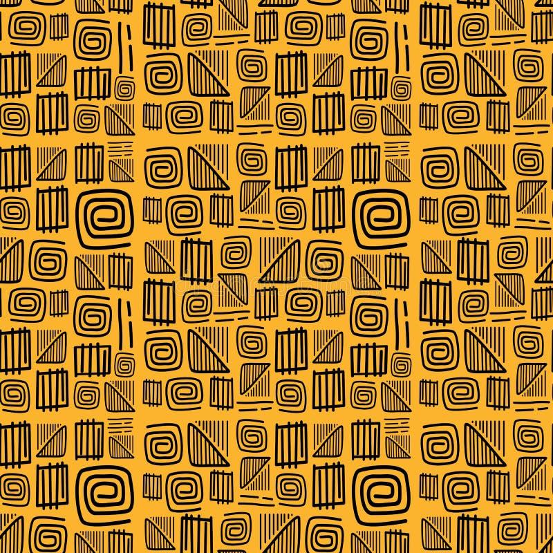 Αφρικανικό διάνυσμα σχεδίων απεικόνιση αποθεμάτων