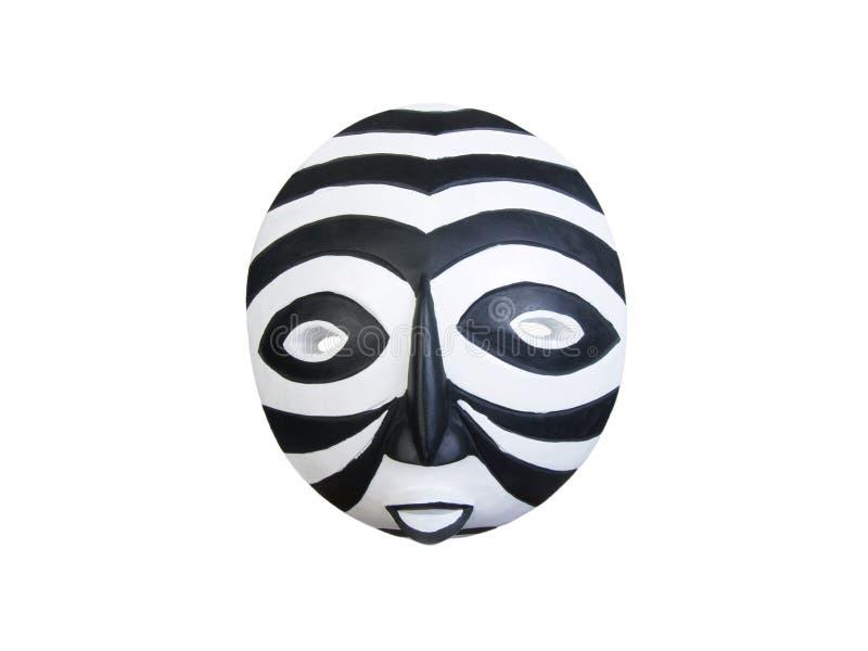 αφρικανικό ενωμένο μαύρο λευκό μασκών στοκ φωτογραφίες