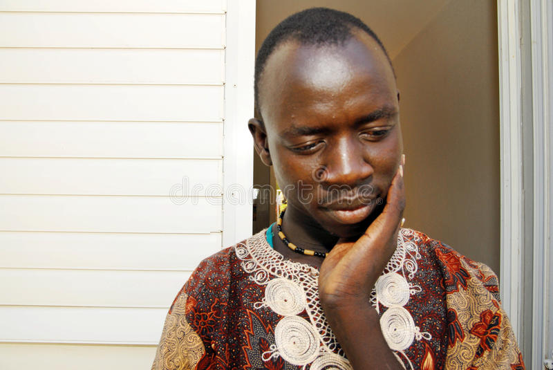 Αφρικανικό κέντρο κράτησης προσφύγων στοκ εικόνα με δικαίωμα ελεύθερης χρήσης