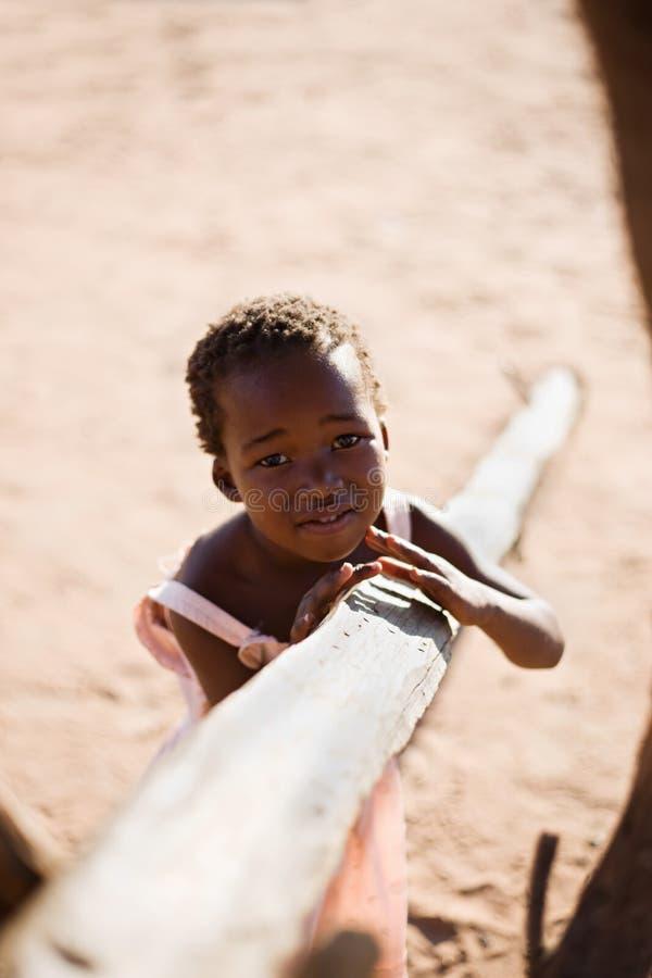 αφρικανικό κορίτσι στοκ φωτογραφία