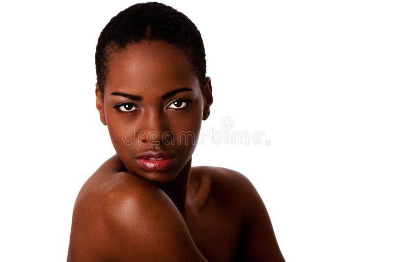 αφρικανικό πρόσωπο ομορφ&iot στοκ φωτογραφίες
