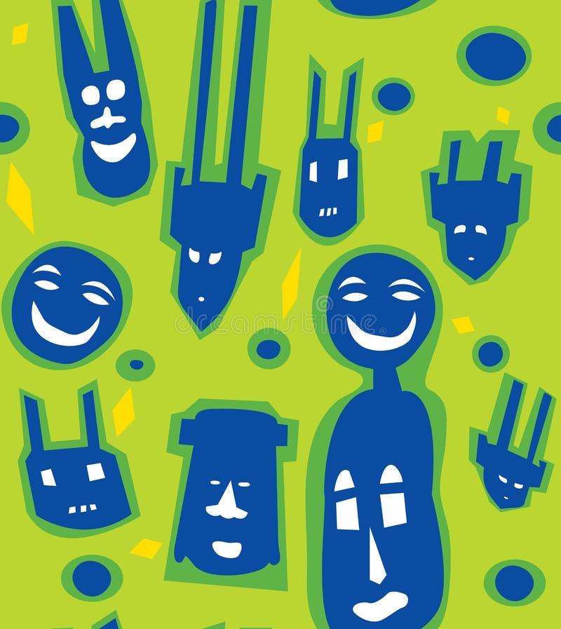 Download αφρικανικό σύγχρονο πρότυ&p Διανυσματική απεικόνιση - εικονογραφία από ταπετσαρία, επανάληψη: 22775821