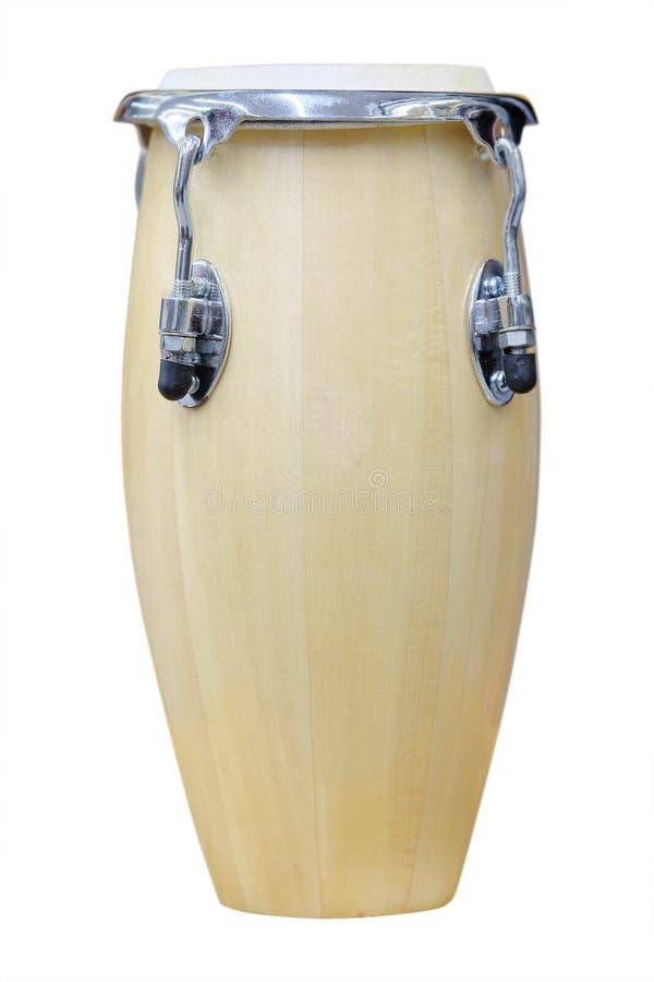 Αφρικανικό τύμπανο conga στοκ φωτογραφία