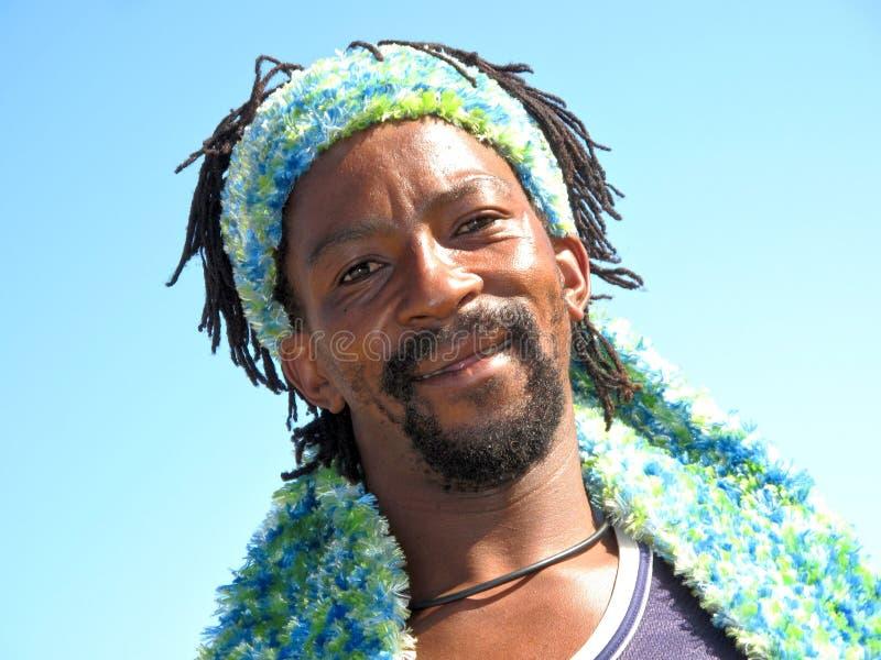 αφρικανικό φοβιτσιάρες xhosa στοκ εικόνες