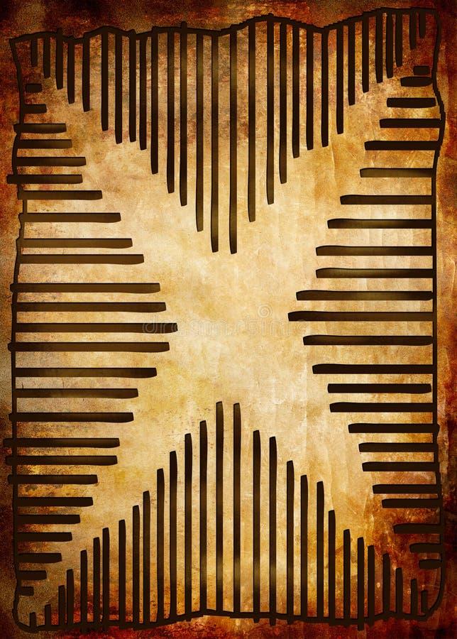 αφρικανικό ύφος διανυσματική απεικόνιση