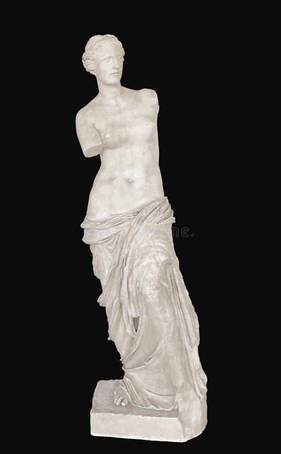 Αφροδίτη του αγάλματος αρχαίου Έλληνα της Μήλου στοκ εικόνες