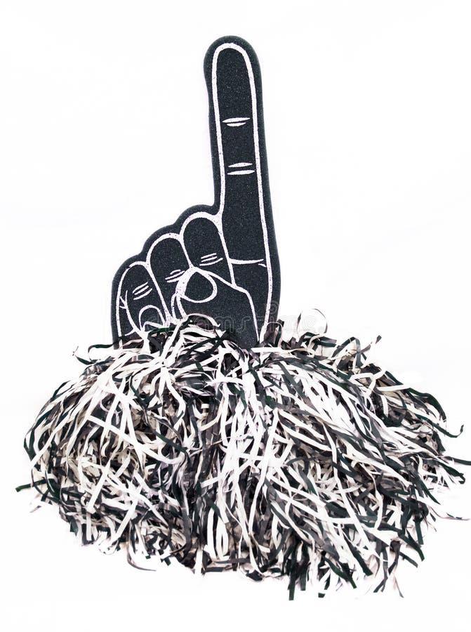 αφρός δάχτυλων ευθυμίας στοκ εικόνες με δικαίωμα ελεύθερης χρήσης