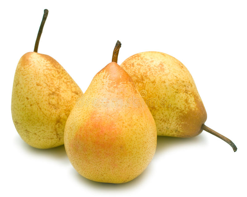 αχλάδια κίτρινα στοκ φωτογραφίες με δικαίωμα ελεύθερης χρήσης