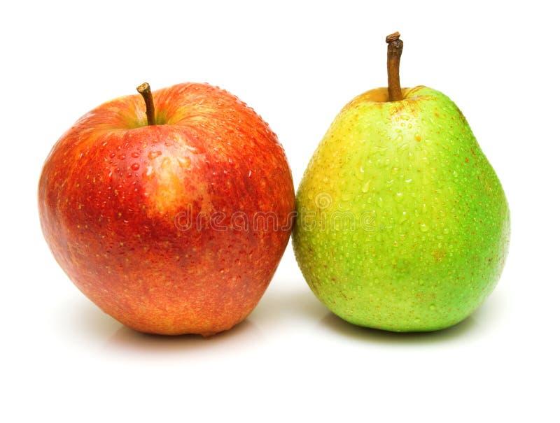 αχλάδι μήλων στοκ φωτογραφία με δικαίωμα ελεύθερης χρήσης