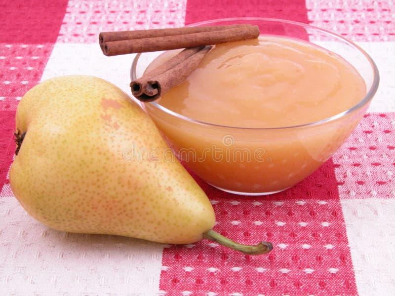 αχλάδι μαρμελάδας στοκ φωτογραφία με δικαίωμα ελεύθερης χρήσης