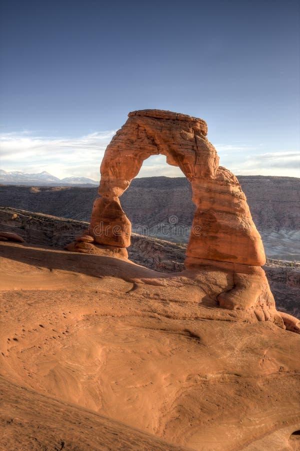 αψίδα λεπτό Utah στοκ εικόνα με δικαίωμα ελεύθερης χρήσης