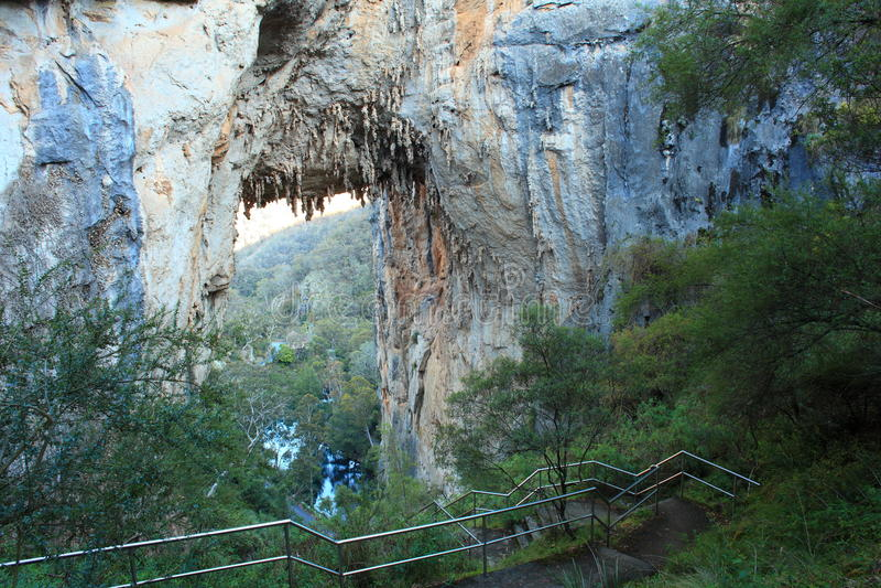 Αψίδα Carlotta σπηλιών Jenolan στοκ φωτογραφία με δικαίωμα ελεύθερης χρήσης