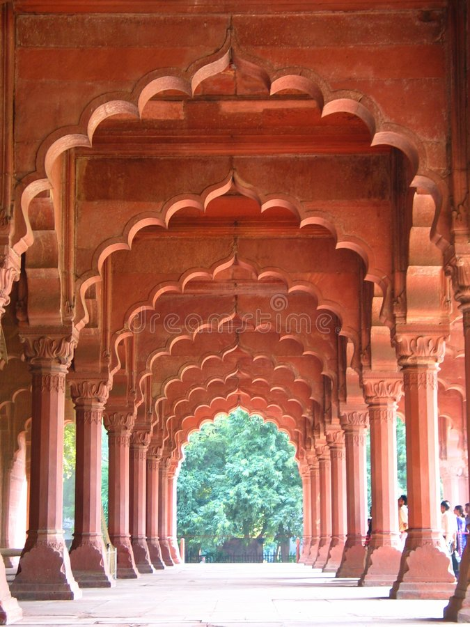 αψίδες Ινδός στοκ εικόνες