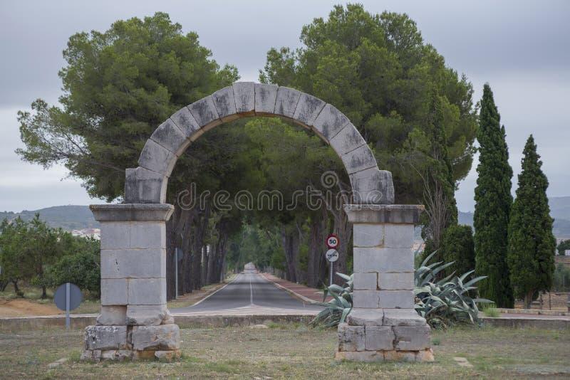 αψίδα Ρωμαίος στοκ εικόνα με δικαίωμα ελεύθερης χρήσης