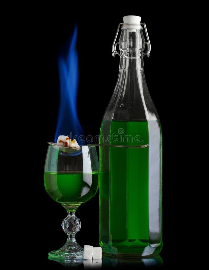 Αψιθιά με το κάψιμο ζάχαρης στοκ φωτογραφία με δικαίωμα ελεύθερης χρήσης
