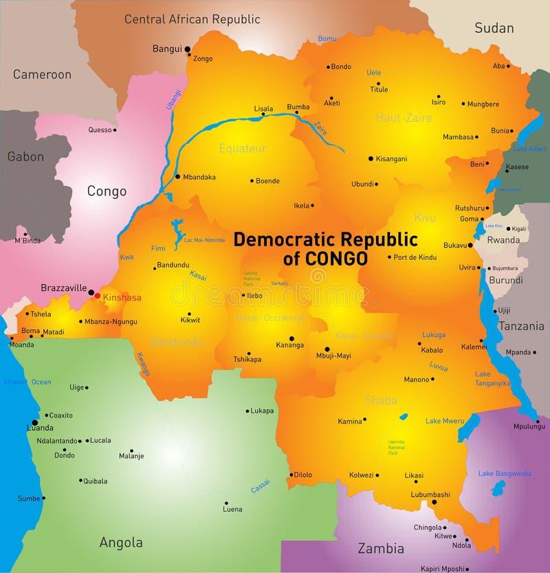 λαϊκή δημοκρατία του Κογκό απεικόνιση αποθεμάτων