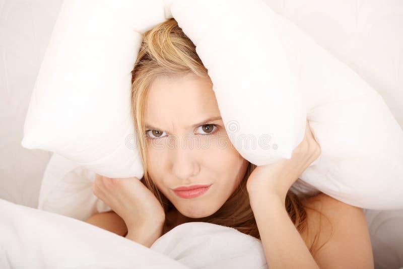 αϋπνία έννοιας στοκ εικόνες με δικαίωμα ελεύθερης χρήσης