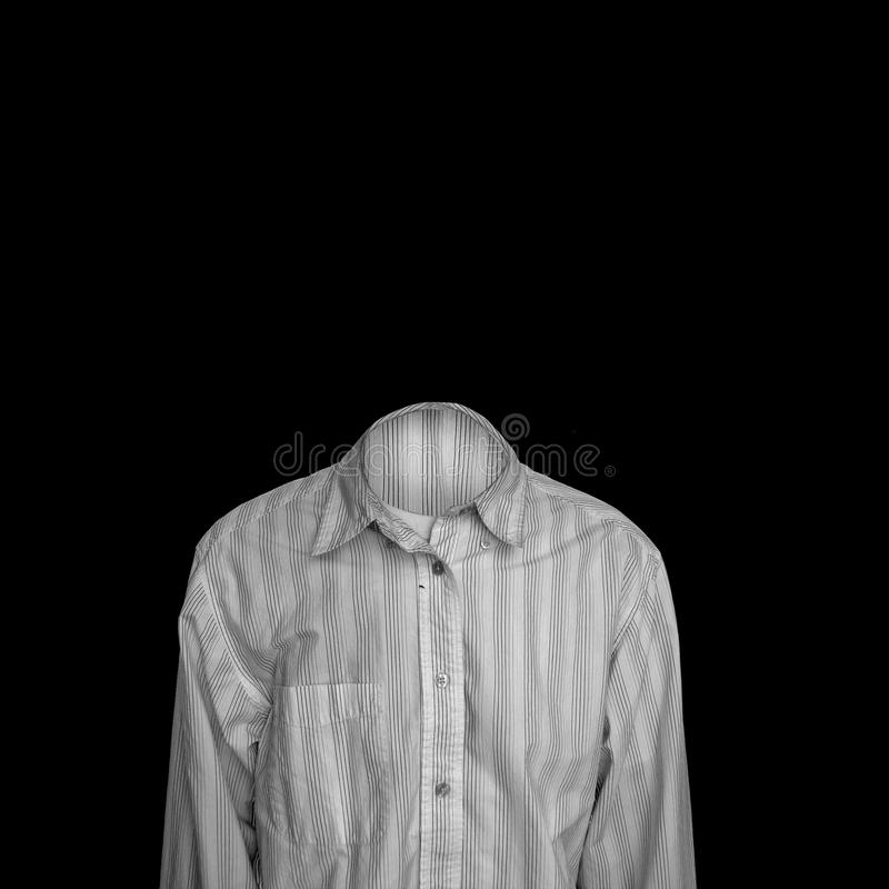 αόρατο άτομο στοκ εικόνα