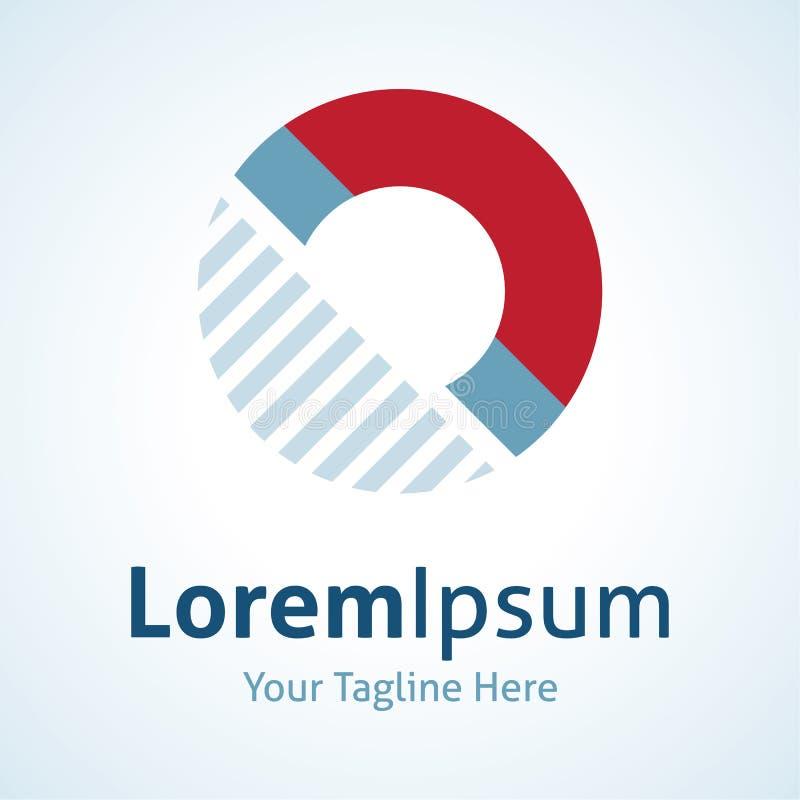 Αόρατο εικονίδιο λογότυπων νόμου φυσικής δύναμης μαγνητών απεικόνιση αποθεμάτων