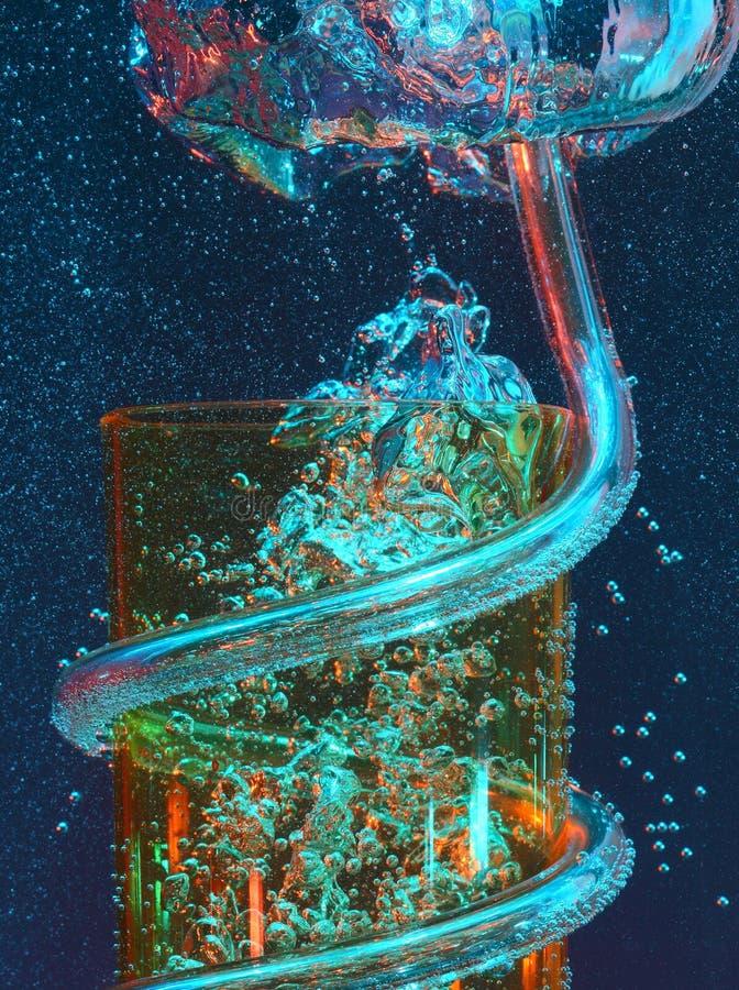 αύξηση γυαλιού φυσαλίδω& στοκ φωτογραφία με δικαίωμα ελεύθερης χρήσης