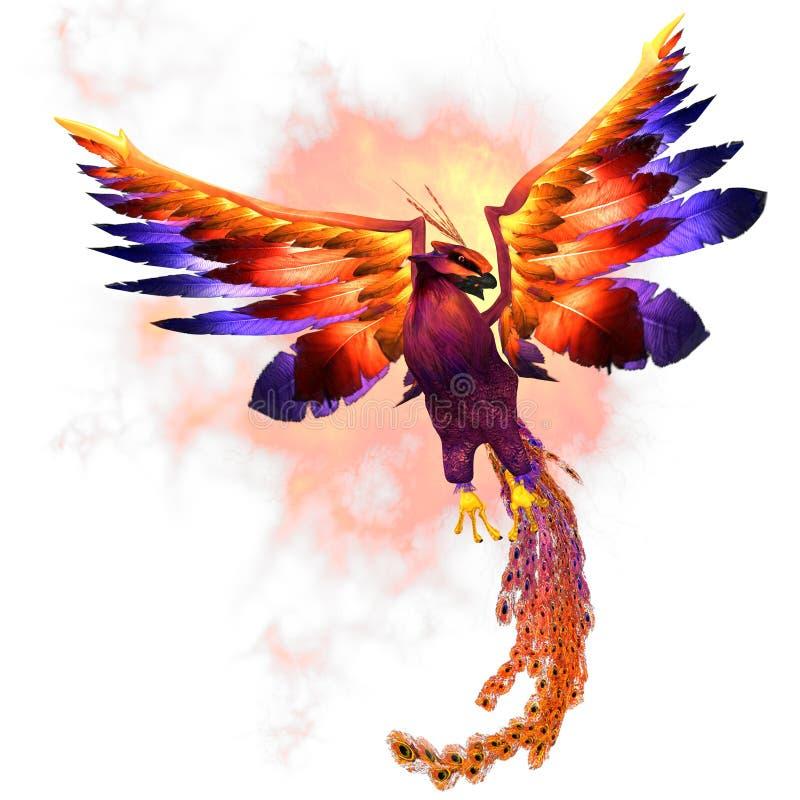 Αύξηση του Phoenix διανυσματική απεικόνιση