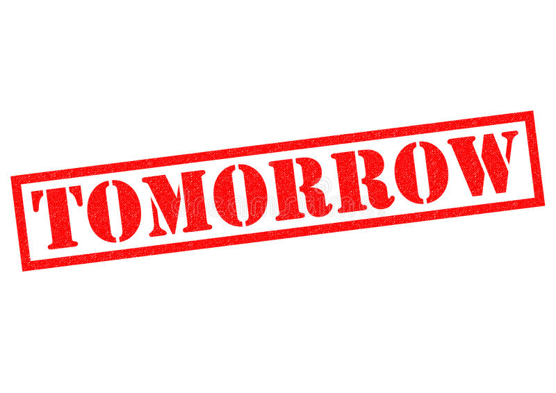 αύριο διανυσματική απεικόνιση