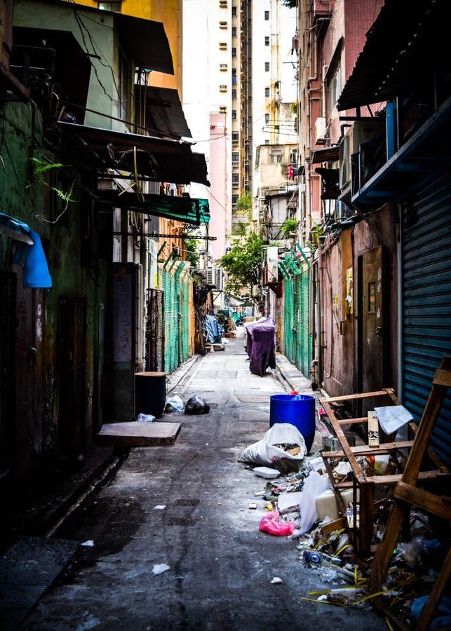 Αλέα του Χογκ Κογκ στοκ φωτογραφία με δικαίωμα ελεύθερης χρήσης