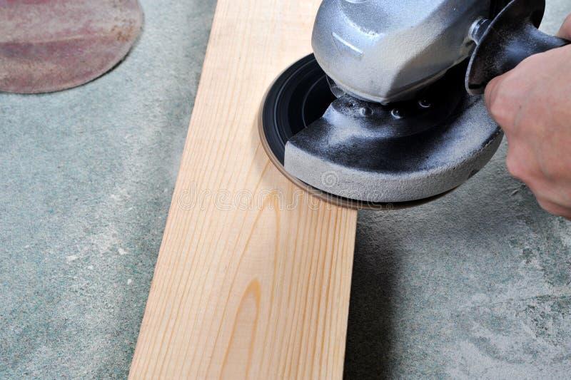 Αλέθοντας ξύλο στοκ φωτογραφίες με δικαίωμα ελεύθερης χρήσης