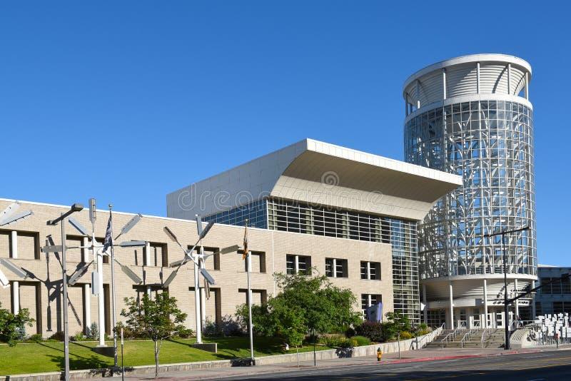 Αλατισμένο κέντρο Συνθηκών παλατιών του Calvin Rampton στοκ εικόνες με δικαίωμα ελεύθερης χρήσης