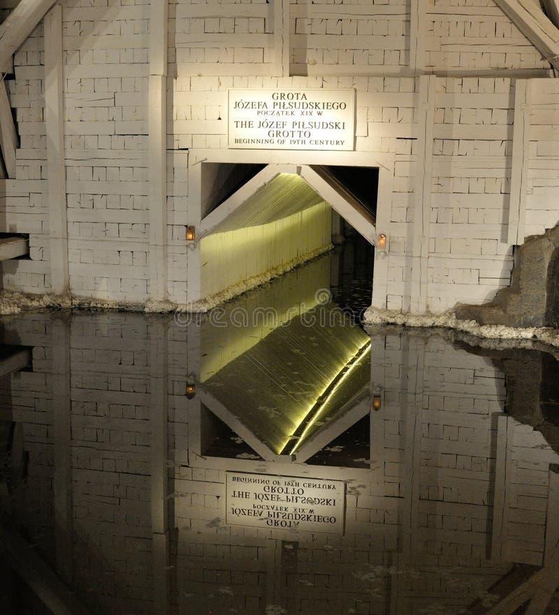 Αλατισμένο ορυχείο της Κρακοβίας στοκ εικόνες